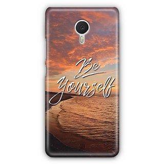 YuBingo Be Yourself Designer Mobile Case Back Cover for Meizu M3 Note