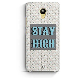 YuBingo Stay High Designer Mobile Case Back Cover for Meizu M3