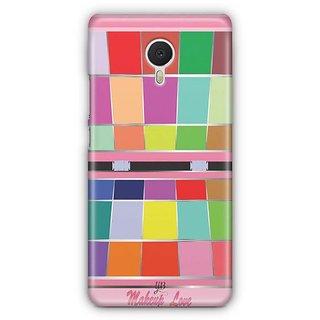YuBingo Makeup Love Designer Mobile Case Back Cover for Meizu M3 Note