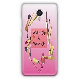 YuBingo Wake Up & Make Up Designer Mobile Case Back Cover for Meizu M3 Note
