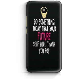 YuBingo Do Something Special Today Designer Mobile Case Back Cover for Meizu M3