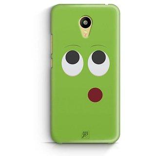 YuBingo Thinking Smiley Designer Mobile Case Back Cover for Meizu M3