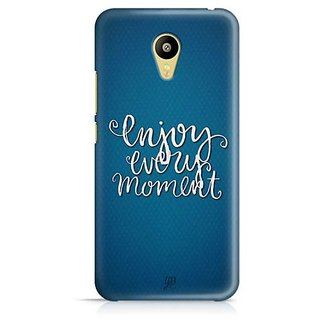 YuBingo Enjoy Every Moment Designer Mobile Case Back Cover for Meizu M3