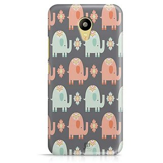 YuBingo Elephant pattern Designer Mobile Case Back Cover for Meizu M3