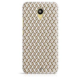 YuBingo Brown triangle pattern Designer Mobile Case Back Cover for Meizu M3
