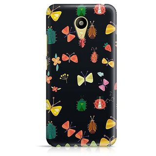 YuBingo Flowers and insects pattern Designer Mobile Case Back Cover for Meizu M3