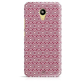 YuBingo Red circles pattern Designer Mobile Case Back Cover for Meizu M3