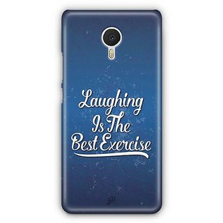 YuBingo Laughing is the Best Exercise Designer Mobile Case Back Cover for Meizu M3 Note