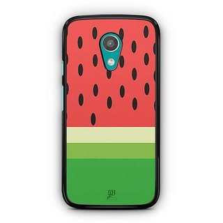 YuBingo Watermelon Designer Mobile Case Back Cover for Motorola G2