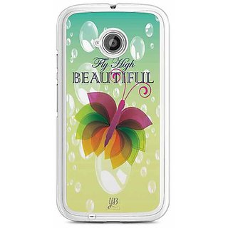 YuBingo Fly High Beautiful Designer Mobile Case Back Cover for Motorola E2