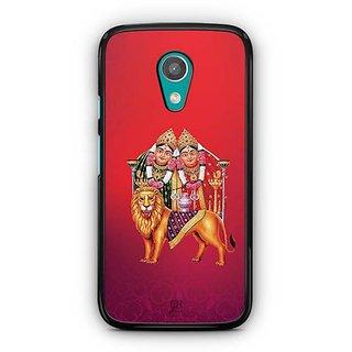 YuBingo Chamunda Devi Designer Mobile Case Back Cover for Motorola G2