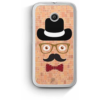 YuBingo The Complete Man Designer Mobile Case Back Cover for Motorola E