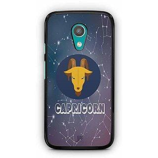 YuBingo Capricorn Designer Mobile Case Back Cover for Motorola G2