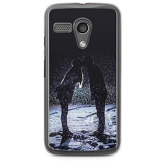 YuBingo Couple in Love Designer Mobile Case Back Cover for Motorola G