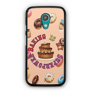 YuBingo Baking is Superpower Designer Mobile Case Back Cover for Motorola G2