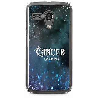 YuBingo Cancer (Creative) Designer Mobile Case Back Cover for Motorola G