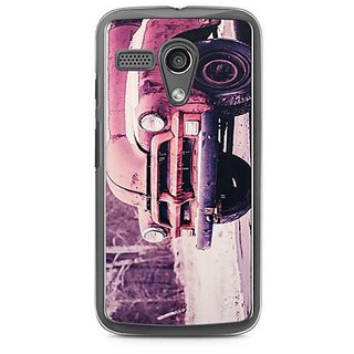 YuBingo Vintage car Designer Mobile Case Back Cover for Motorola G