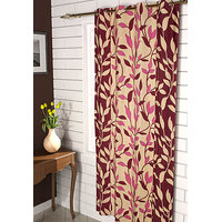 Furnix Printed Eyelet Door Curtain D.No. 3051-2Pc