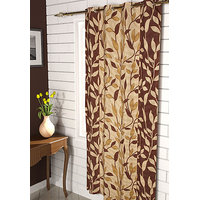 Furnix Printed Eyelet Door Curtain D.No. 3052-1Pc