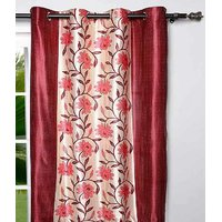 Furnix Printed Eyelet Door Curtain D.No. 3054-2Pc