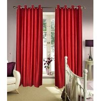Furnix Plain Eyelet Door Curtain D.No. 1028-1Pc