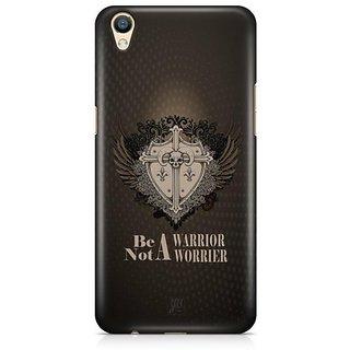 YuBingo Be a Warrior Designer Mobile Case Back Cover for Oppo F1 Plus / R9