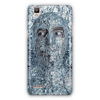 YuBingo Man covered with Aluminium Foil Designer Mobile Case Back Cover for Oppo F1 / A35