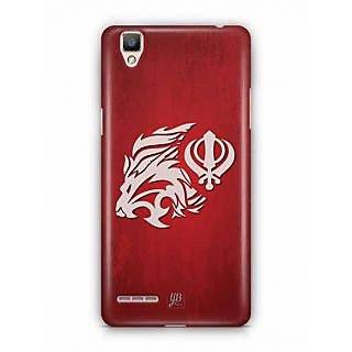 YuBingo Shera di Kaum Designer Mobile Case Back Cover for Oppo F1 / A35