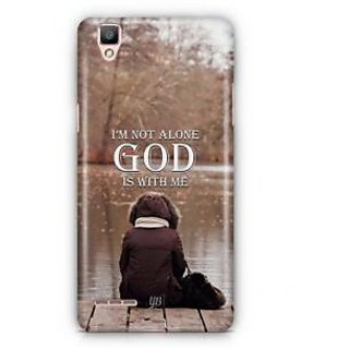 YuBingo God is with Me Designer Mobile Case Back Cover for Oppo F1 / A35