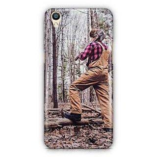 YuBingo Man with Axe Designer Mobile Case Back Cover for Oppo F1 Plus / R9