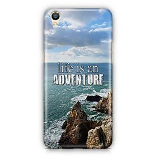 YuBingo Life is an adventure Designer Mobile Case Back Cover for Oppo F1 Plus / R9