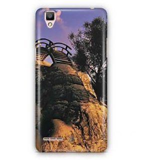 YuBingo Ladder on Mountain Designer Mobile Case Back Cover for Oppo F1 / A35