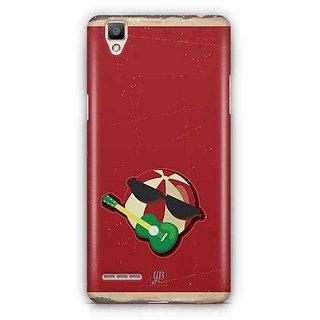 YuBingo Fun at Beach Designer Mobile Case Back Cover for Oppo F1 / A35