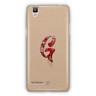 YuBingo Monogram with Beautifully Written Paint Finish letter G Designer Mobile Case Back Cover for Oppo F1 / A35
