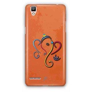 YuBingo Ganesha Designer Mobile Case Back Cover for Oppo F1 / A35