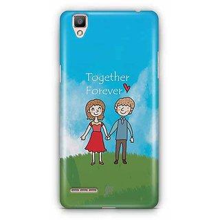 YuBingo Together, Forever Designer Mobile Case Back Cover for Oppo F1 / A35