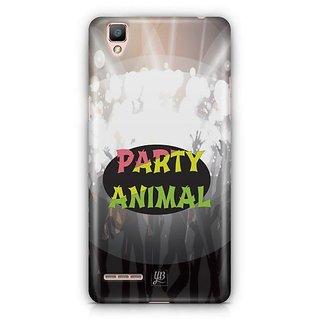 YuBingo Party Animal Designer Mobile Case Back Cover for Oppo F1 / A35