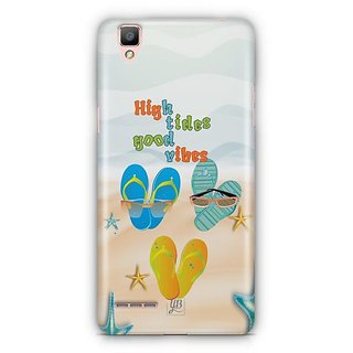 YuBingo High Tides, Good Vibes Designer Mobile Case Back Cover for Oppo F1 / A35