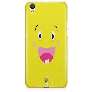 YuBingo Excited Smiley Designer Mobile Case Back Cover for Oppo F1 Plus / R9