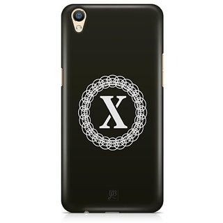 YuBingo Monogram with Beautifully Written letter X Designer Mobile Case Back Cover for Oppo F1 Plus / R9