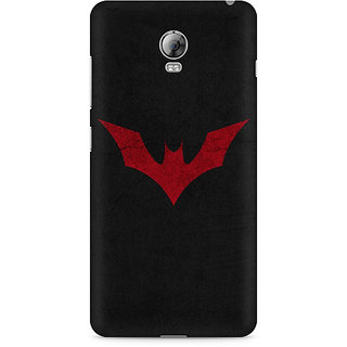CopyCatz Batman Red Logo Premium Printed Case For Lenovo Vibe P1