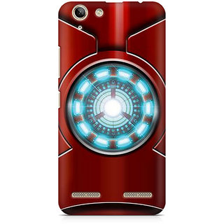 CopyCatz Iron Man's Heart Premium Printed Case For Lenovo K5 Plus