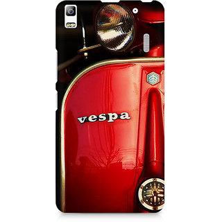CopyCatz Vespa Premium Printed Case For Lenovo A7000