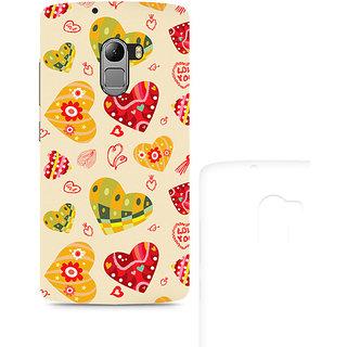 CopyCatz Love Abstract Premium Printed Case For Lenovo K4 Note