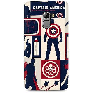 CopyCatz Captain America Collage Premium Printed Case For Lenovo K4 Note