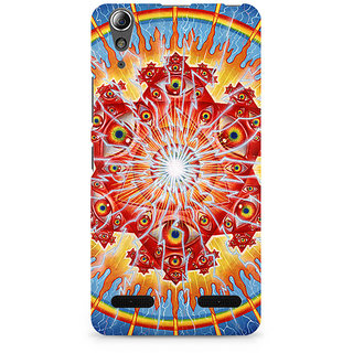 CopyCatz Psychedelic Eyes Premium Printed Case For Lenovo A6000
