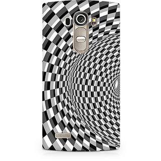 CopyCatz Illusion Checks Premium Printed Case For LG G4