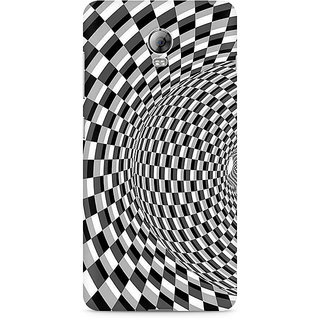 CopyCatz Illusion Checks Premium Printed Case For Lenovo Vibe P1
