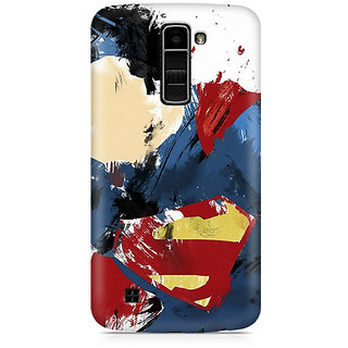 CopyCatz Superman Abstract Premium Printed Case For LG K7