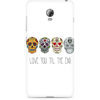 CopyCatz Love till the end Premium Printed Case For Lenovo Vibe P1
